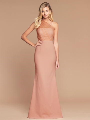 BLUSHING DRESS- IVORY/NUDE