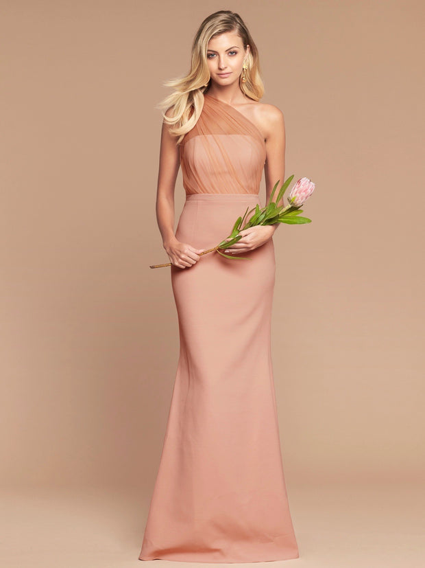 LIVIA GOWN - DUSTY ROSE