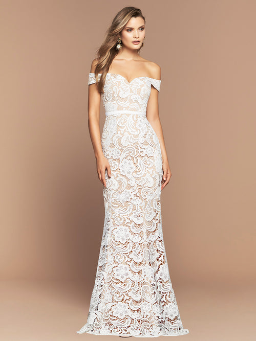 STELLA GOWN - IVORY/NUDE
