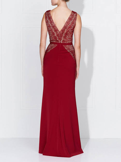 KASIA GOWN- BERRY
