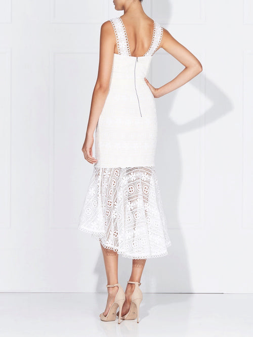 KATERINA LACE DRESS - IVORY