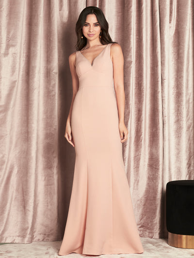 CORELLA GOWN - POWDER