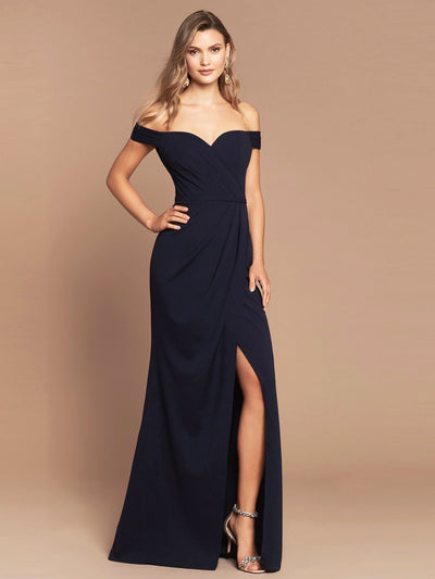 VALENCIA GOWN - NAVY