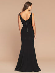 CORELLA GOWN - BLACK