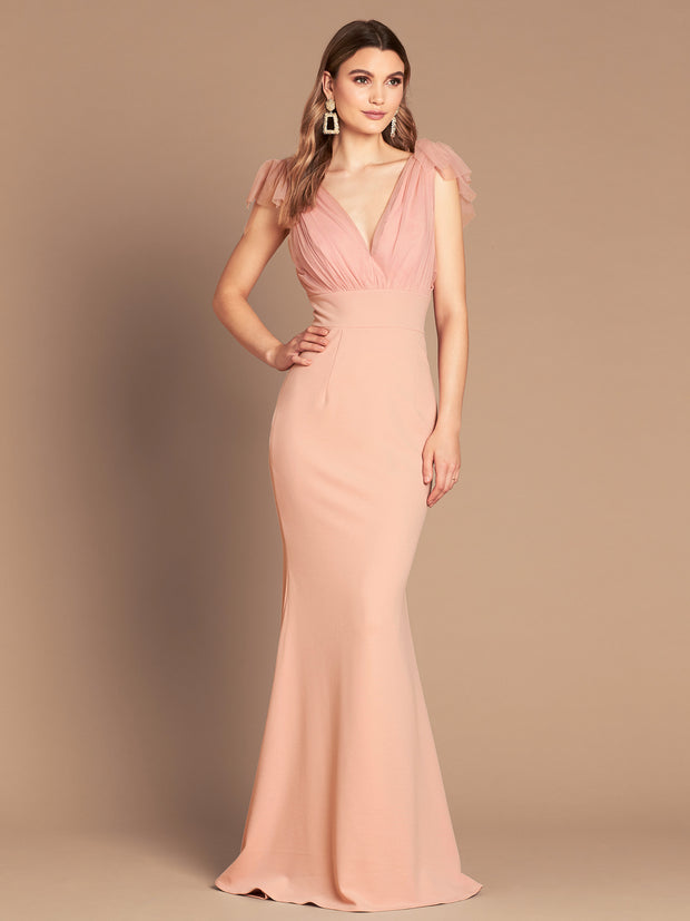 SOPHIA TULLE GOWN - ROSE QUARTZ