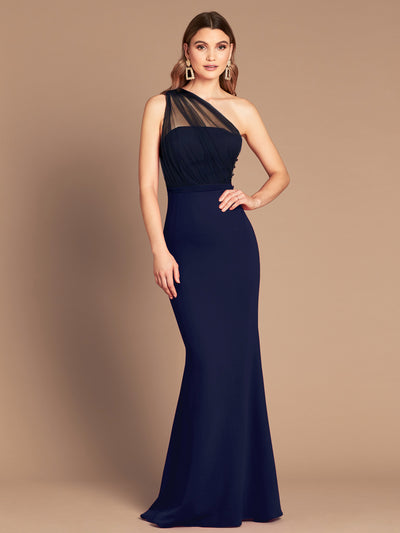 LIVIA GOWN - NAVY