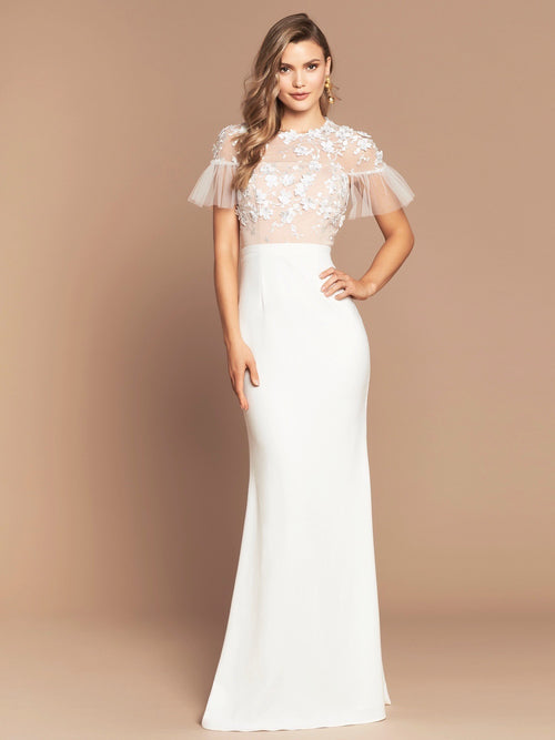 PRE-ORDER FLORENCIA GOWN - IVORY