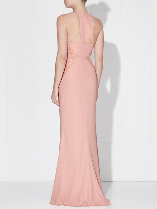 ISABELLA MAXI- DUSTY PINK