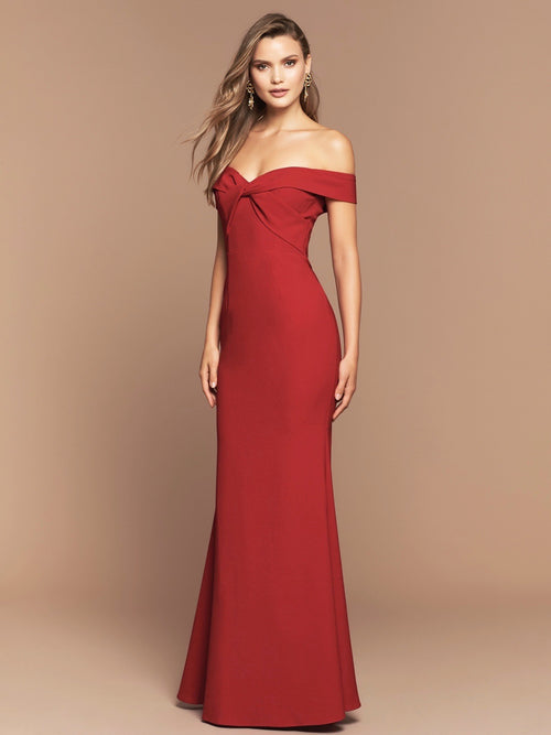 VIKTORIA GOWN - ROUGE