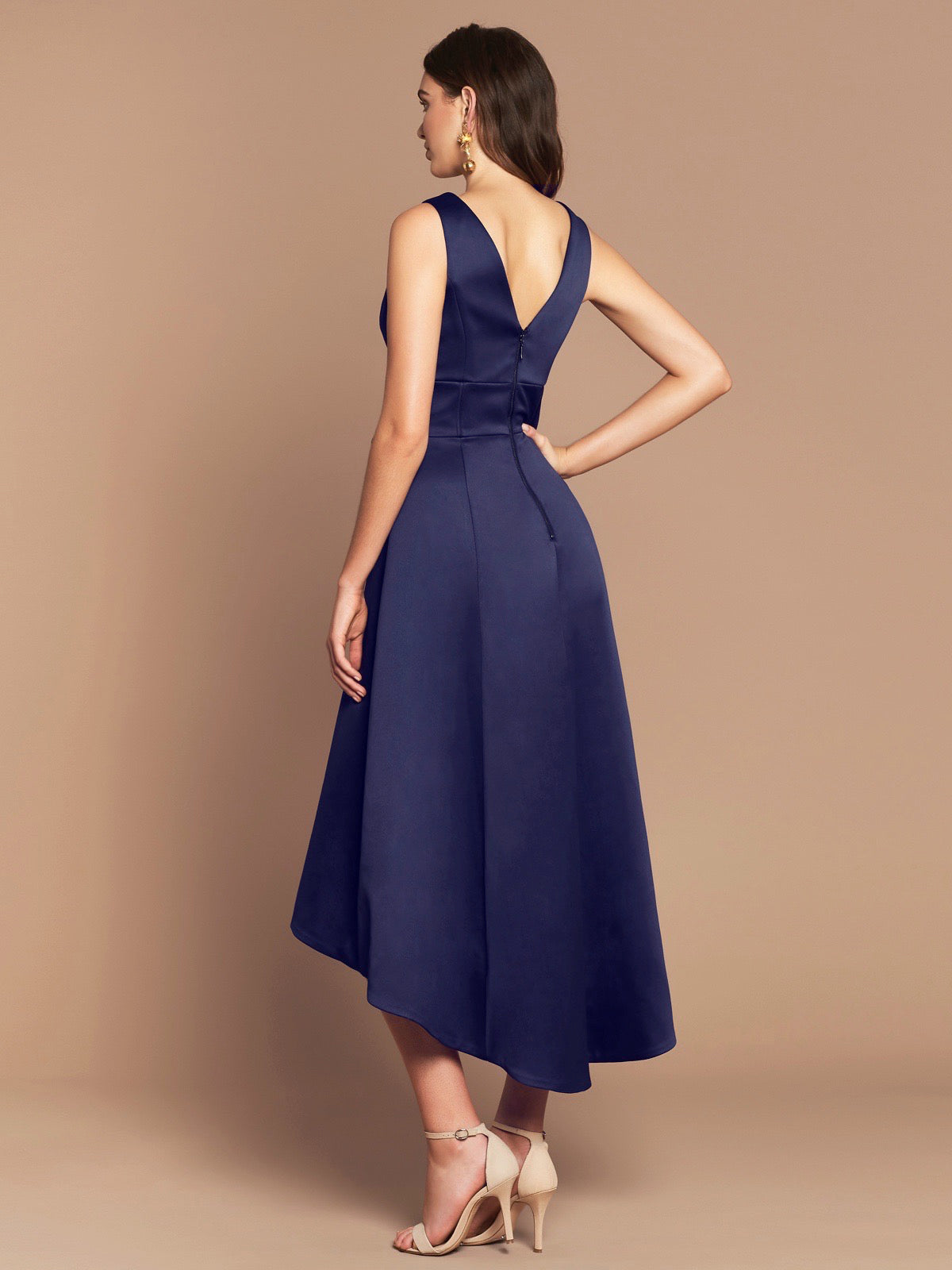 EDEN DRESS - NAVY