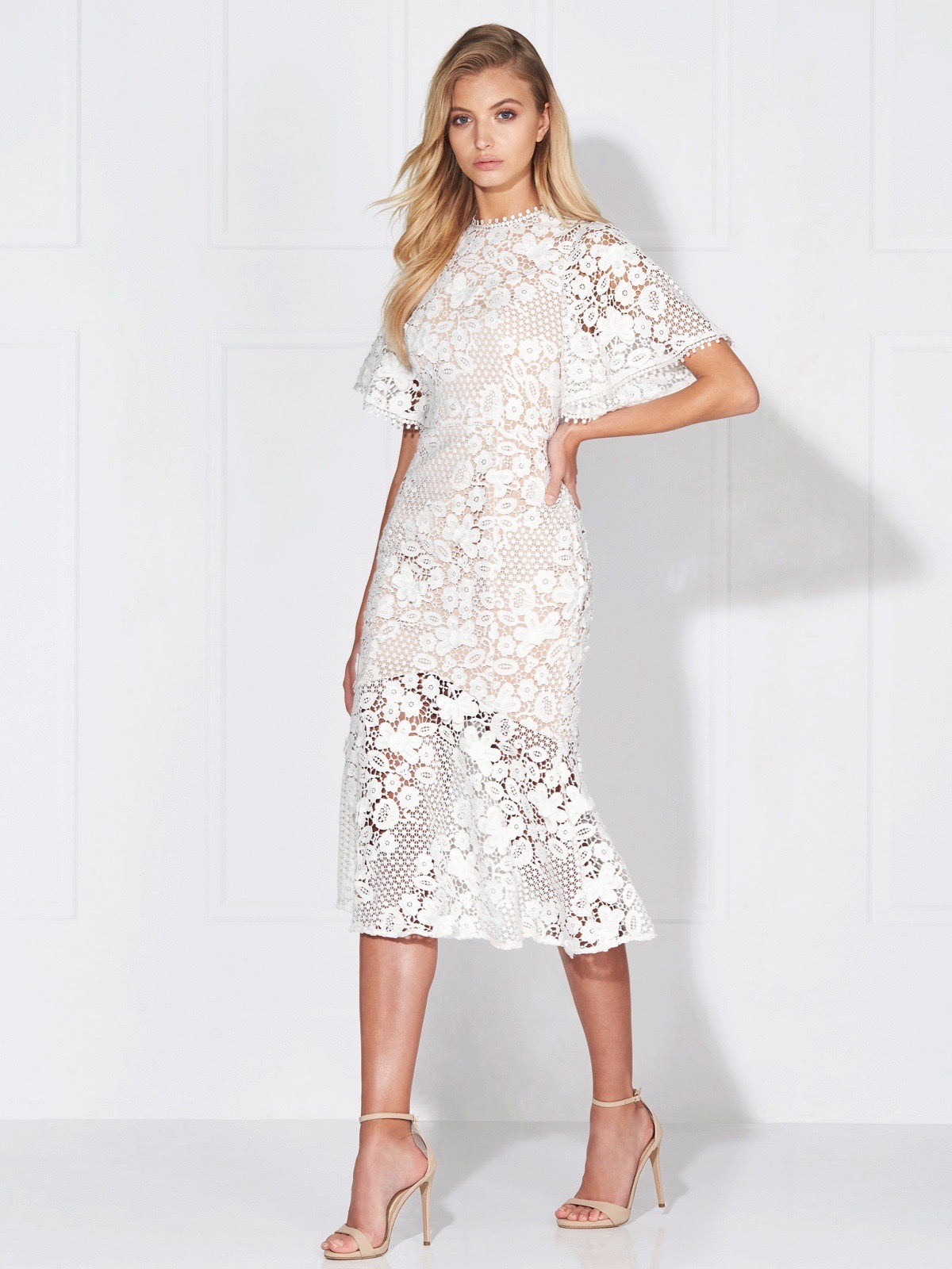 Ivory Lace Dresses for Women