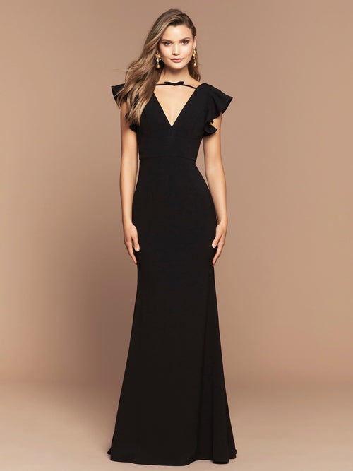 RUBY GOWN - BLACK