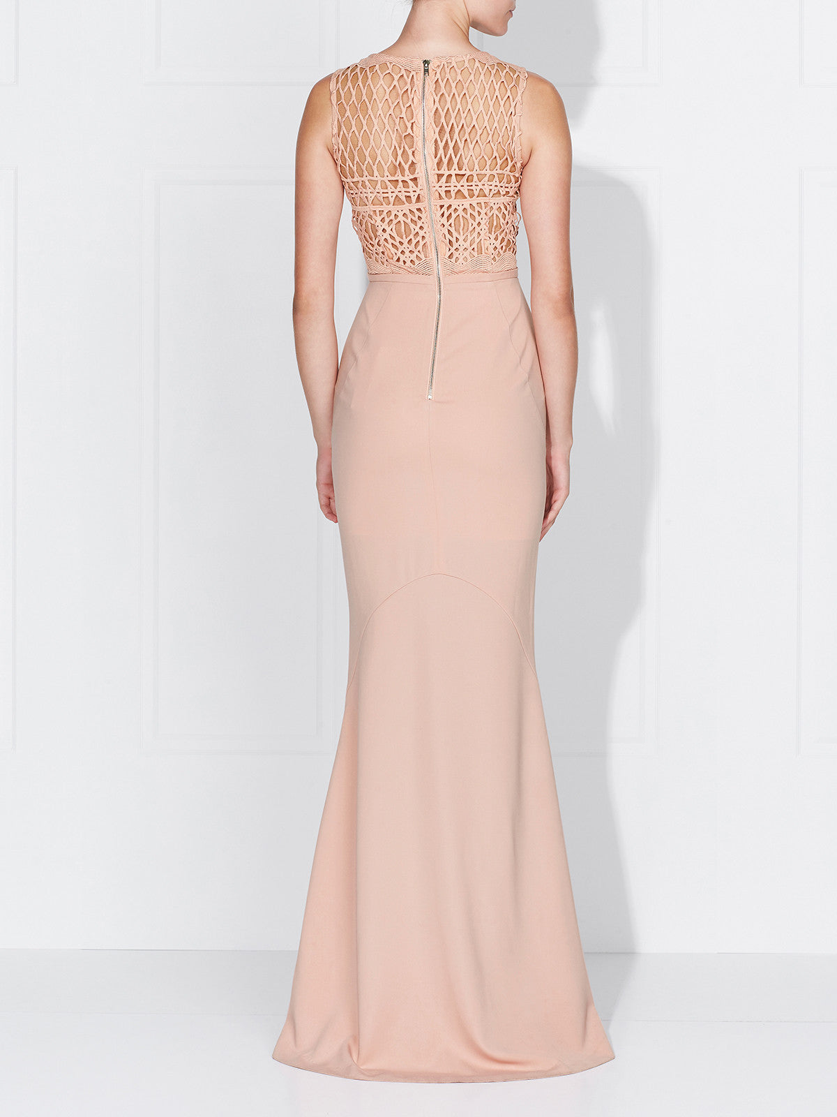 SERENA GOWN- DUSTY ROSE