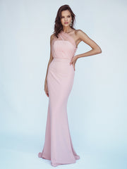 LIVIA GOWN - ROSE QUARTZ