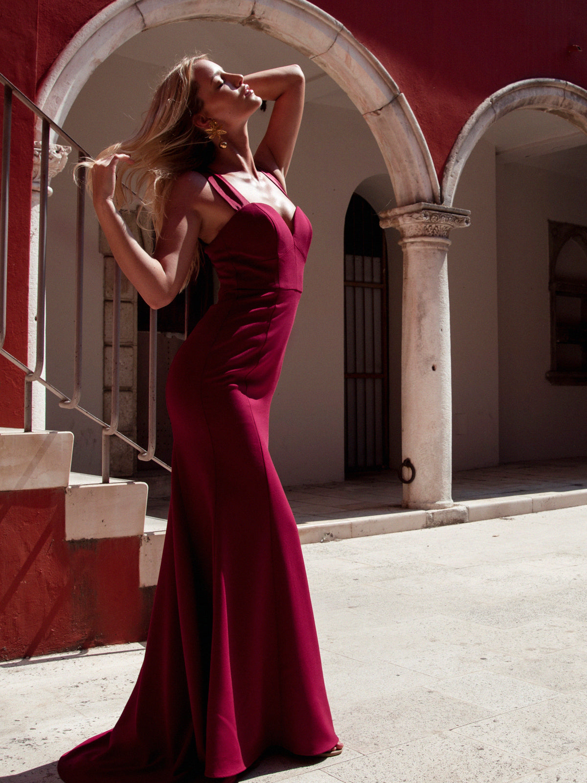 SANDRINE GOWN - WINE
