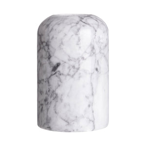 Leia Small Grey Marble Candle Holder