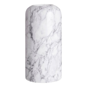 Leia Large Grey Marble Candle Holder