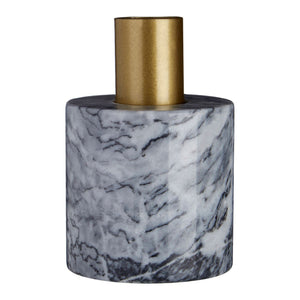 Lettie Grey Marble Candle holder