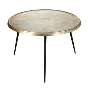 Hailey Table Champagne Gold