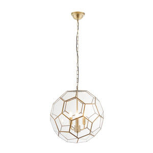 Hexagonal Pendant Light