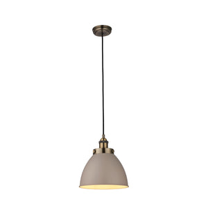 Lyco Antique Brass Pendant Light