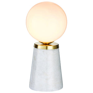 Odo Table Lamp Marble