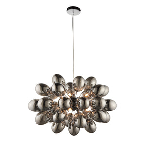 Black Chrome Cluster Pendant Light