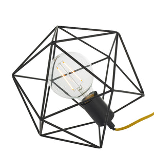 Geometric Style Table Lamp