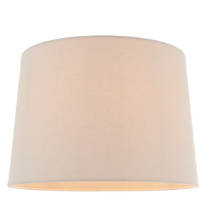 Large Natural Linen Lampshade