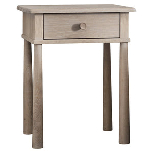 Malmo 1 drawer Bedside Table