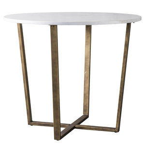 Wade Round Dining Table Marble