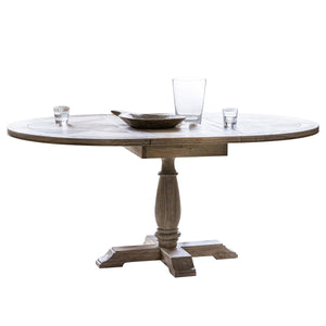 St. Lucia Round Extending Dining Table
