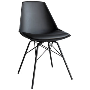 The Florence Chair in Black (4 pack)