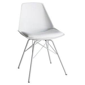 The Florence Chair in White (4 pack)