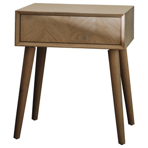 Vienna 1 Drawer Side Table