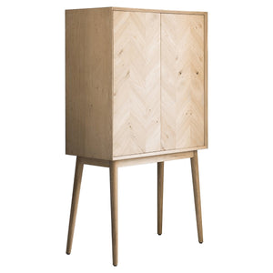 Vienna 2 Door Cocktail Cabinet