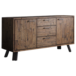 Primrose 2 Door 3 Drawer Sideboard Rustic