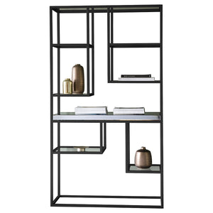 Sorrento Open Display Unit Black