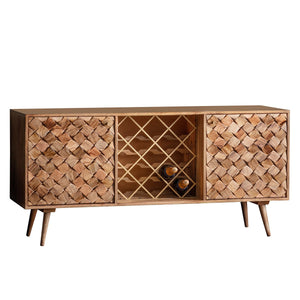 Amalfi Sideboard Burnt Wax