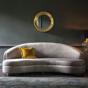 Sensa Sofa Grey Velvet