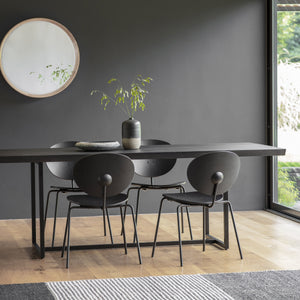 Westbourne Dining Table Black