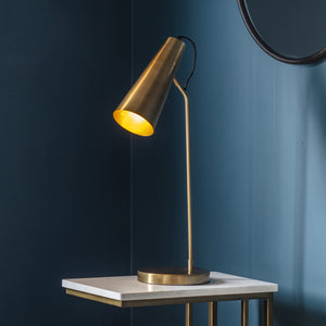 Cambridge Table Lamp Gold