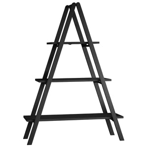 A-Frame Black Bookshelf