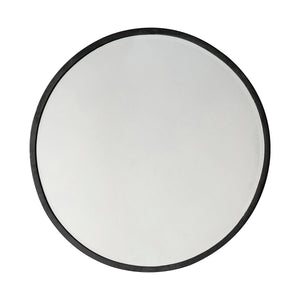 The Hepburn Round Mirror in Black