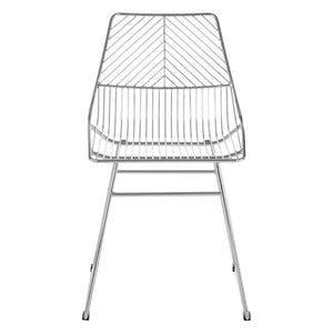 Redfern Chrome Metal Wire Chair