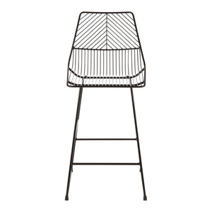Cultiver Black Metal Wire Chair