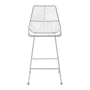 Cultiver Chrome Metal Wire Chair