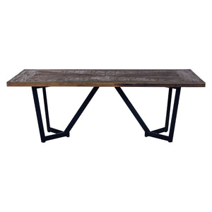 Ultimo Elm Wood Dining Table