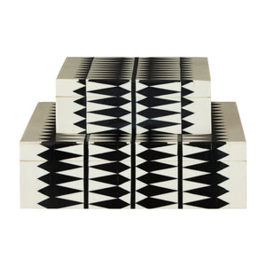 Issi Monochrome Jewellery Boxes