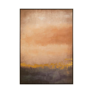 Sunset Abstract Wall Art